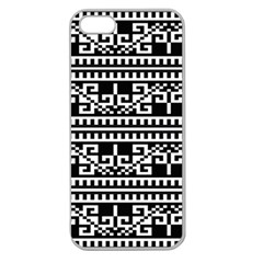 Traditional Draperie Apple Seamless iPhone 5 Case (Clear)