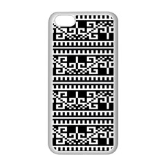 Traditional Draperie Apple iPhone 5C Seamless Case (White)