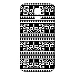 Traditional Draperie Samsung Galaxy S5 Back Case (White)