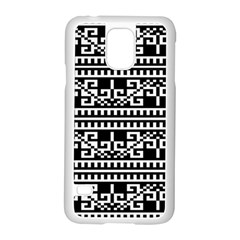 Traditional Draperie Samsung Galaxy S5 Case (White)