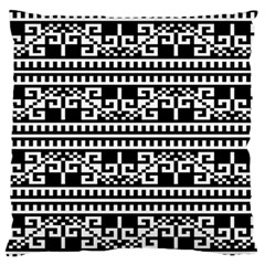 Traditional Draperie Large Flano Cushion Case (Two Sides)