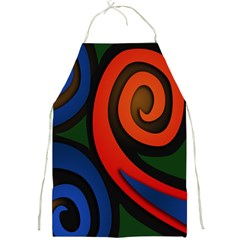 Simple Batik Patterns Full Print Aprons