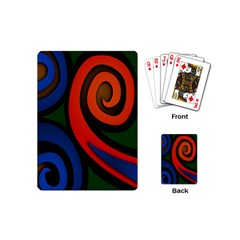 Simple Batik Patterns Playing Cards (Mini)