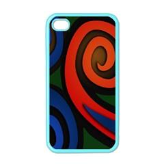Simple Batik Patterns Apple iPhone 4 Case (Color)