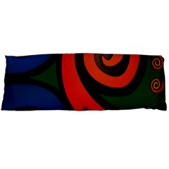 Simple Batik Patterns Body Pillow Case Dakimakura (two Sides)