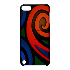 Simple Batik Patterns Apple iPod Touch 5 Hardshell Case with Stand