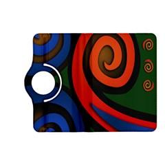 Simple Batik Patterns Kindle Fire HD (2013) Flip 360 Case