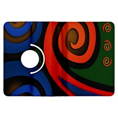 Simple Batik Patterns Kindle Fire HDX Flip 360 Case