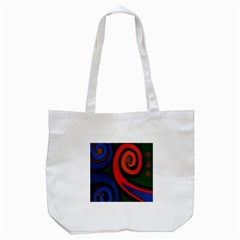 Simple Batik Patterns Tote Bag (white)