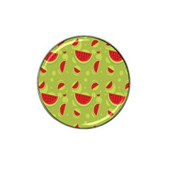 Watermelon Fruit Patterns Hat Clip Ball Marker