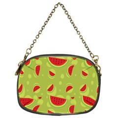 Watermelon Fruit Patterns Chain Purses (One Side)