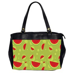 Watermelon Fruit Patterns Office Handbags (2 Sides)