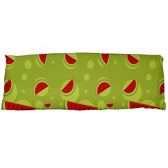 Watermelon Fruit Patterns Body Pillow Case Dakimakura (two Sides)