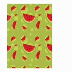 Watermelon Fruit Patterns Small Garden Flag (two Sides)