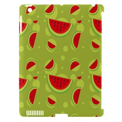 Watermelon Fruit Patterns Apple iPad 3/4 Hardshell Case (Compatible with Smart Cover)