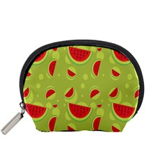 Watermelon Fruit Patterns Accessory Pouches (Small)