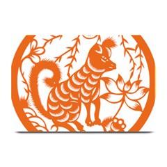 Chinese Zodiac Dog Plate Mats