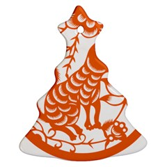 Chinese Zodiac Dog Ornament (Christmas Tree)