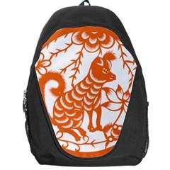Chinese Zodiac Dog Backpack Bag