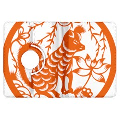 Chinese Zodiac Dog Kindle Fire HDX Flip 360 Case