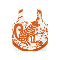 Chinese Zodiac Dog Full Print Recycle Bags (s)