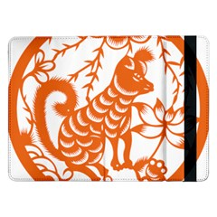 Chinese Zodiac Dog Samsung Galaxy Tab Pro 12.2  Flip Case