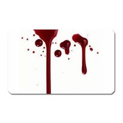 Blood Splatter 4 Magnet (Rectangular)