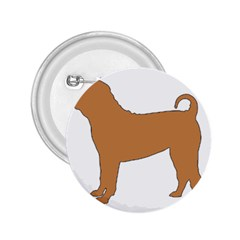 Chinese Shar Pei Silo Color 2.25  Buttons