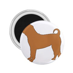 Chinese Shar Pei Silo Color 2.25  Magnets