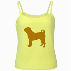 Chinese Shar Pei Silo Color Yellow Spaghetti Tank