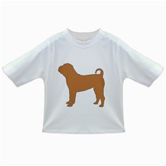 Chinese Shar Pei Silo Color Infant/Toddler T-Shirts