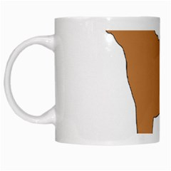 Chinese Shar Pei Silo Color White Mugs