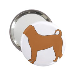 Chinese Shar Pei Silo Color 2.25  Handbag Mirrors