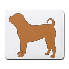 Chinese Shar Pei Silo Color Large Mousepads