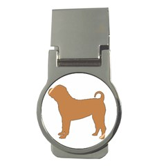 Chinese Shar Pei Silo Color Money Clips (Round)