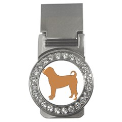 Chinese Shar Pei Silo Color Money Clips (CZ)