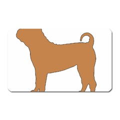Chinese Shar Pei Silo Color Magnet (Rectangular)