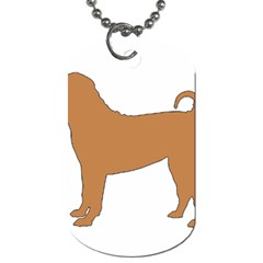 Chinese Shar Pei Silo Color Dog Tag (One Side)