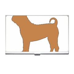 Chinese Shar Pei Silo Color Business Card Holders