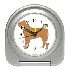 Chinese Shar Pei Silo Color Travel Alarm Clocks