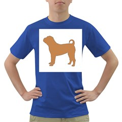 Chinese Shar Pei Silo Color Dark T-Shirt