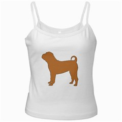 Chinese Shar Pei Silo Color Ladies Camisoles
