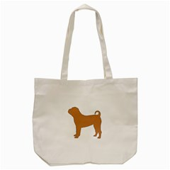 Chinese Shar Pei Silo Color Tote Bag (Cream)