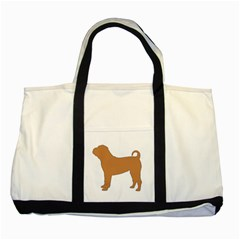 Chinese Shar Pei Silo Color Two Tone Tote Bag