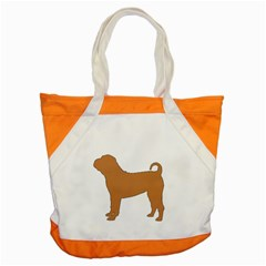Chinese Shar Pei Silo Color Accent Tote Bag