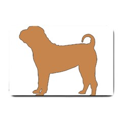 Chinese Shar Pei Silo Color Small Doormat