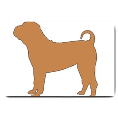 Chinese Shar Pei Silo Color Large Doormat