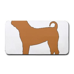 Chinese Shar Pei Silo Color Medium Bar Mats