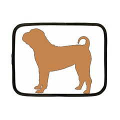 Chinese Shar Pei Silo Color Netbook Case (Small)