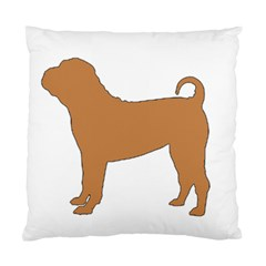 Chinese Shar Pei Silo Color Standard Cushion Case (Two Sides)